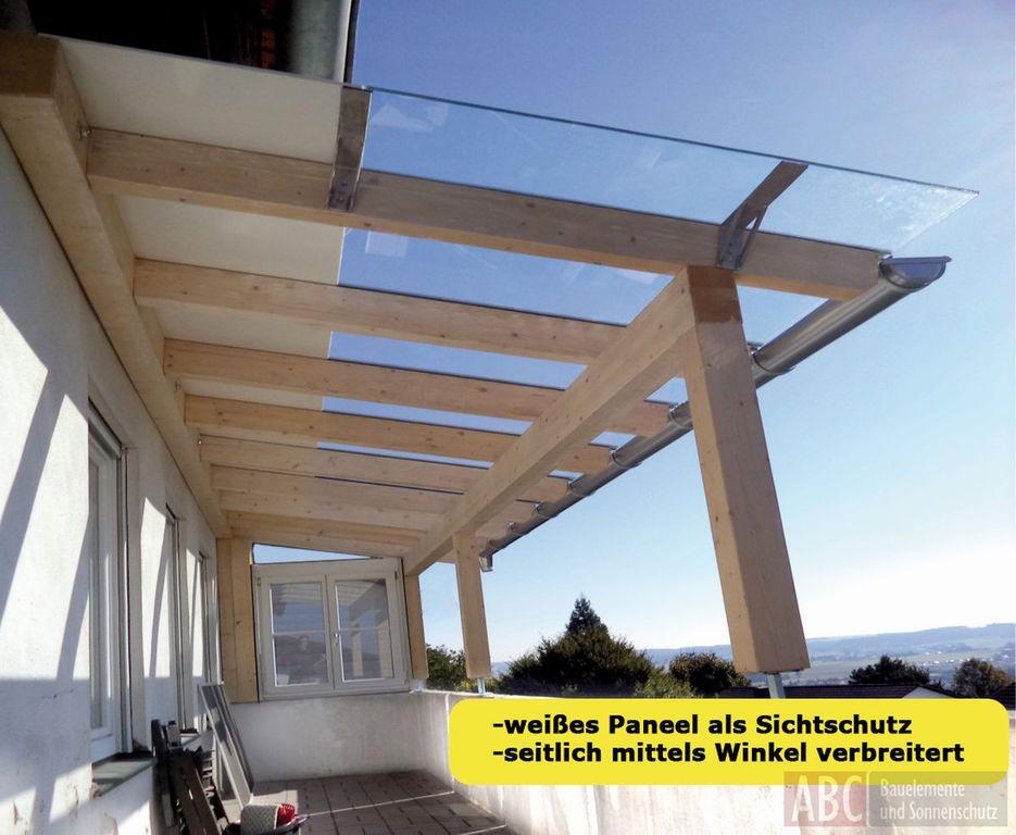 Holz Terrassendach Terrassendacher Von Abc Bauelemente